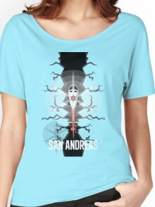 San Andreas Women's Relaxed Fit T-Shirt