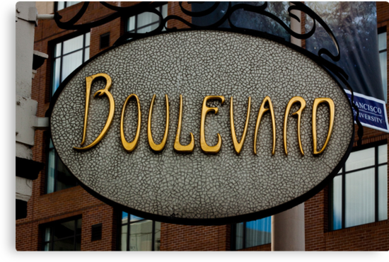 Boulevard  -  A World of Words by Buckwhite