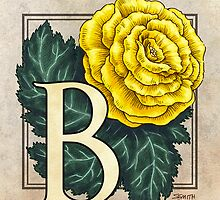 B is for Begonia by Stephanie Smith