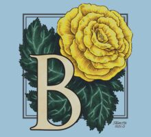 B is for Begonia - full image by Stephanie Smith