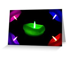 Light My Rainbow ©  Greeting Card