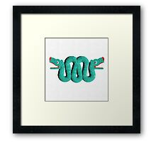 Icons - Aztec Snake by Pierre Blanchard Framed Print
