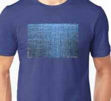 Abstract textured blue background Unisex T-Shirt