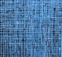 Abstract textured blue background Sticker