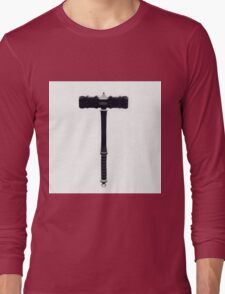 Icons - Thors Hammer by Pierre Blanchard Long Sleeve T-Shirt