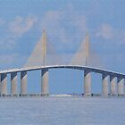 Tampa Bay Bridge by Rosalie Scanlon