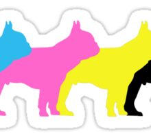 frenchie fun Sticker