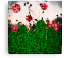 Pixel Berries Canvas Print