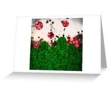 Pixel Berries Greeting Card