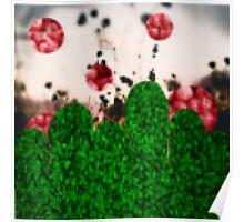 Pixel Berries Poster