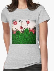 Pixel Berries Womens Fitted T-Shirt
