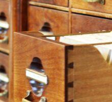 Vintage Library at Copenhagen University Sticker