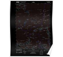 Massachusetts  USGS Historical Topo Map MA Hull 20120607 TM Inverted Poster