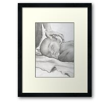 Your Baby Boy Framed Print