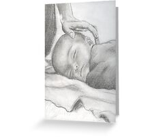 Your Baby Boy Greeting Card