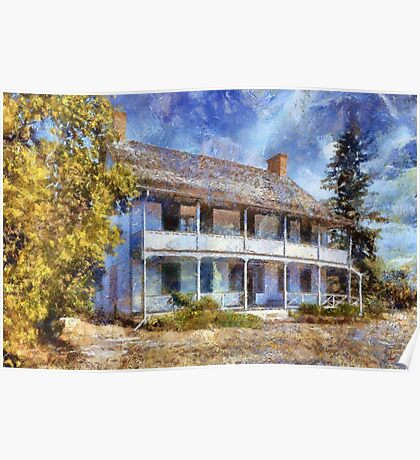 Fairfield House - painted Poster