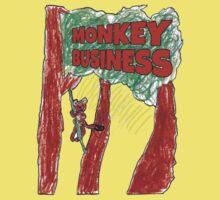 Monkey Business Baby Tee