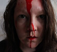 Bloody Hell Self Portrait by Lauranette