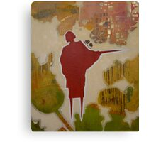 Betty with Sword Canvas Print
