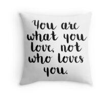 Fall Out Boy Lyric Throw Pillow