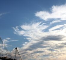 Clark Bridge - View from Alton, IL by Lauranette
