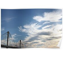 Clark Bridge - View from Alton, IL Poster