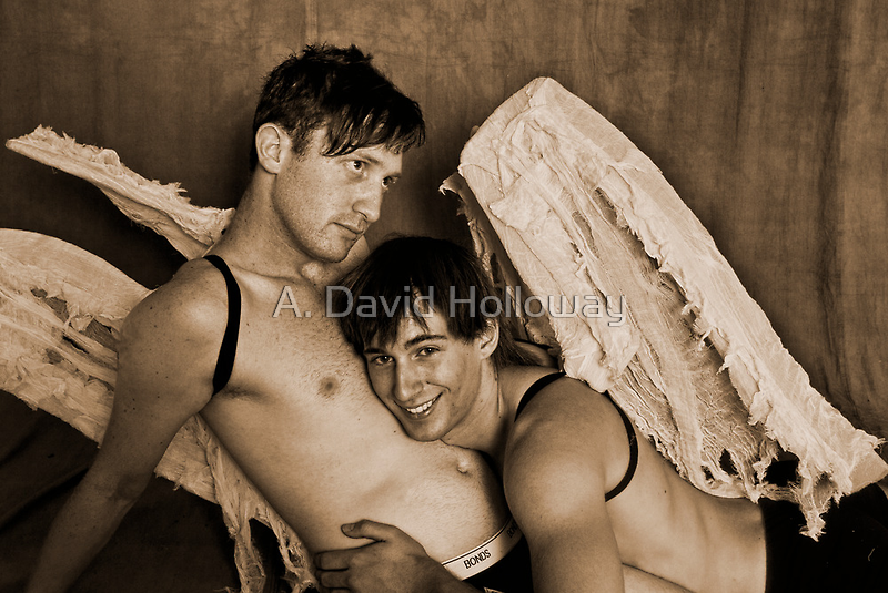 Christmas Angels 9 by A.David Holloway