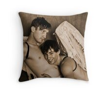 Christmas Angels 9 Throw Pillow
