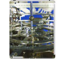 Golden metal cogwheels inside clockwork iPad Case/Skin