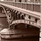 bridge over the Seine by DKphotoart