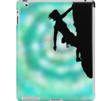 between rock and sky iPad Case/Skin