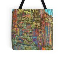 Temple to Psychedelia  Tote Bag