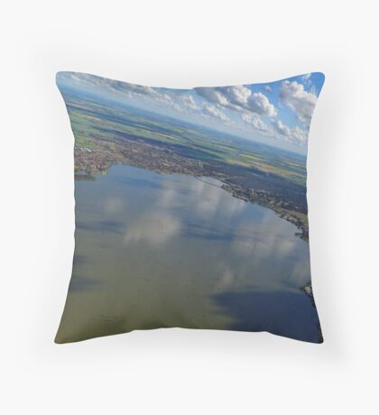 Yarrawonga Mulwala Reflections Throw Pillow