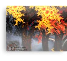 Haunted Forest Canvas Print