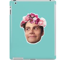 FlowerCrown Crazy Face Stiles iPad Case/Skin