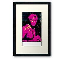 pensive momma Framed Print