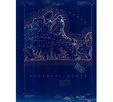 Massachusetts  USGS Historical Topo Map MA Marthas Vineyard 352836 1894 62500 Inverted Photographic Print