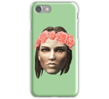 Lydia Flower Crown iPhone Case/Skin