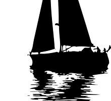 Sailboat by ROPATROKOLA