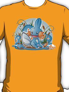 Pokemon - Mudkip - Render Cut T-Shirt