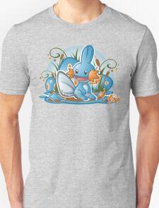 Pokemon - Mudkip - Render Cut Unisex T-Shirt