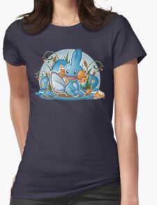 Pokemon - Mudkip - Render Cut Womens Fitted T-Shirt