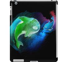 MakoHaru Neon Watercolor iPad Case/Skin