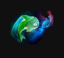 MakoHaru Neon Watercolor Hoodie