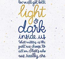 Light and dark inside us by earthlightened