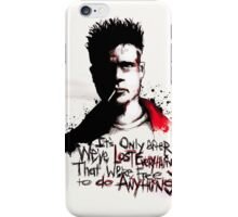 Lost Everything iPhone Case/Skin