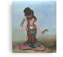 Steampunk  Doll Canvas Print