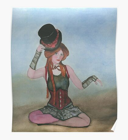 Steampunk  Doll Poster