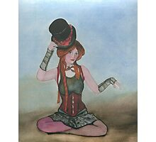 Steampunk  Doll Photographic Print