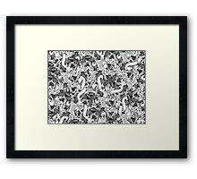 I had too much to Dream Last Night Framed Print